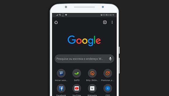 """De esta forma podrás activar el """"modo oscuro"""" de Google Chome. (Foto: Google)"""