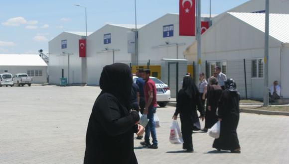 Campo de refugiados ubicado en Gaziantep, Turquía. (Foto: Gestión)
