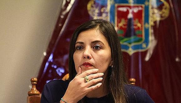 """Yamila Osorio calificó como """"infamias"""" las declaraciones de los aspirantes a colaboradores eficaces. (Foto: GEC)"""