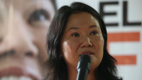 Keiko Fujimori consideró que el sector privado podría encargarse de la vacunación de sus trabajadores. (Foto: GEC)