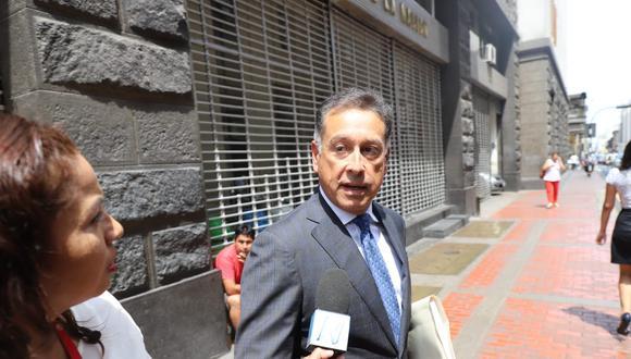Gerardo Sepúlveda llegó a Lima el domingo y permanecerá, según su abogado, hasta el 3 de marzo. (Foto: GEC)