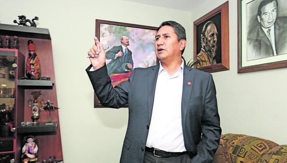 """El exgobernador regional de Junín consideró que el fundador del Partido Morado evidenció """"una angurria económica ilimitada y una autosuficiencia insuficiente"""". (Foto: GEC)"""
