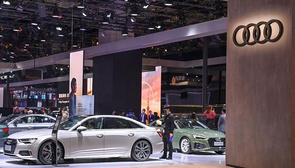 Audi planea tener más de 20 modelos eléctricos en su catálogo para el año 2025. (Foto: AFP)