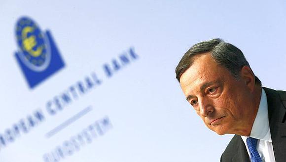 Mario Draghi, presidente del Banco Central Europeo (BCE). (Foto: Reuters)