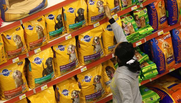 La categoría más favorecida fue la de alimentos para mascotas. (Foto: USI)