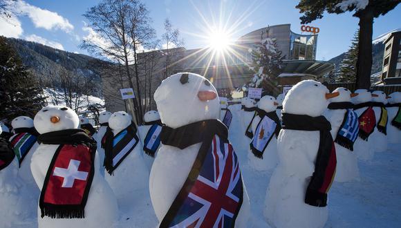Foro Económico de Davos. (Foto: Difusión)