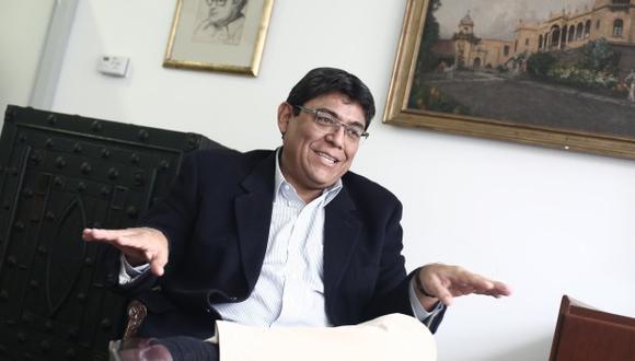 Elmer Cuba, economista y director del BCR. (Foto: GEC)