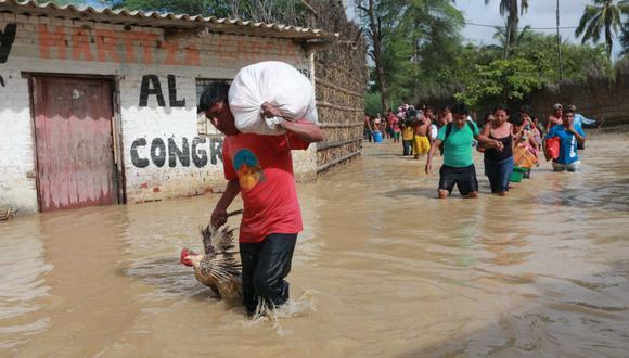Piura es una de las zonas afectadas por el Fenómeno El Niño. (GEC)