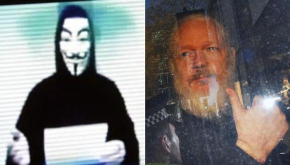 Anonymous amenazó con realizar acciones contundentes contra los gobiernos que tratan de silenciar a aquellos que revelan sus secretos. (Foto: Captura / EFE)