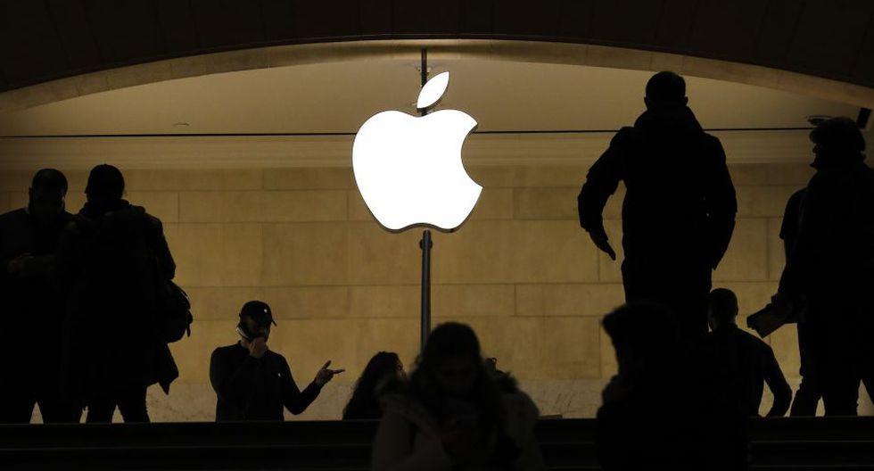 El gigante tecnológico estadounidense Apple llegó a un acuerdo con el Estado francés para pagar la cifra. (Foto: AFP)