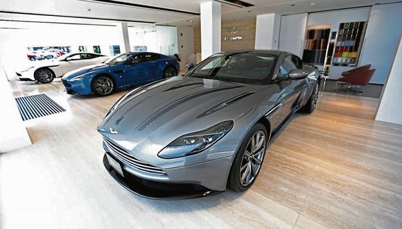 Aston Martin DB11. (Foto: USI)