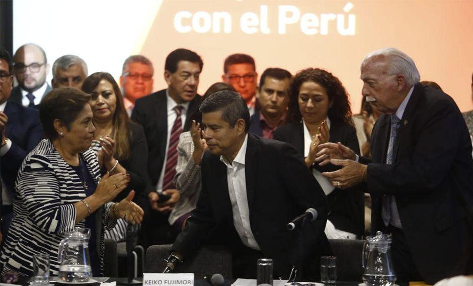 La reestructuración de Fuerza Popular estará a cargo de Luis Galarreta. (Foto: Piko Tamashiro / GEC)