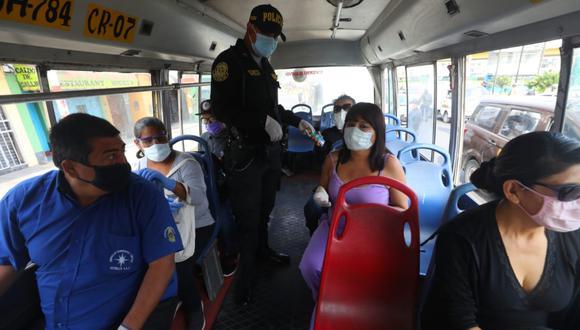 Control de Transporte Público | FOTO: GEC
