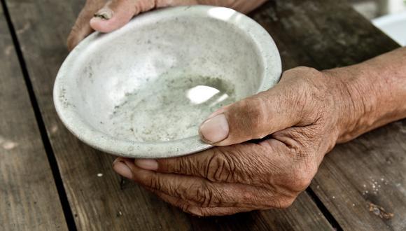"""El papa Francisco sostuvo que el hambre, """"en su mayor parte, está causada por una distribución desigual de los frutos de la tierra"""". (Foto: Shutterstock)"""