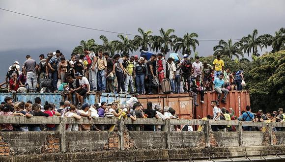 Colombia se convirtió en el mayor receptor de emigrantes venezolanos y actualmente más de 1.7 millones se encuentran su territorio.