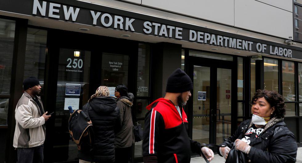 Cifras revelan la situación del empleo desde que las medidas de confinamiento y las restricciones se hicieron más generales en el país. (Foto: Reuters)