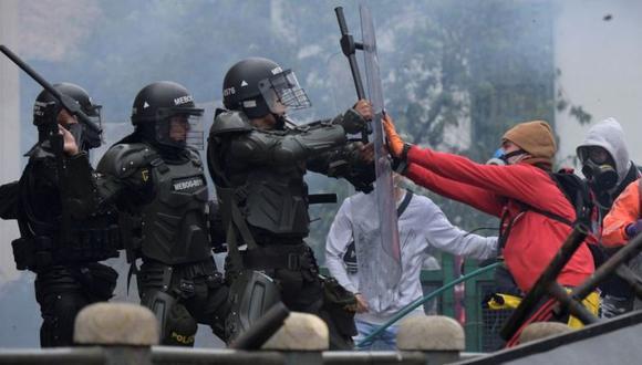 Las protestas no cesan en Colombia. (Foto: Getty Images).