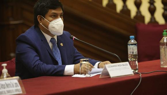 Leonardo Inga, congresista de Acción Popular, preside la comisión COVID-19. (Foto: Congreso)