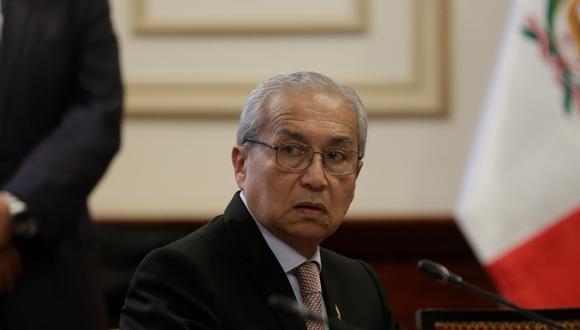 Pedro Chávarry está denunciado por la sustracción de documentos de una oficina lacrada por el fiscal del Equipo Especial Lava Jato, José Domingo Pérez. (FOTO: GEC)
