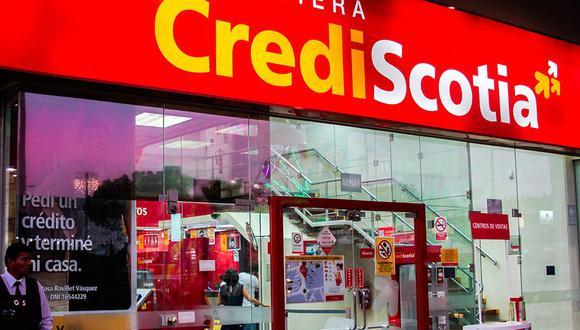El hecho se produjo cuando el cliente acudió a una agencia de Crediscotia para cancelar la cuota de su tarjeta de crédito. (Foto: Difusión)