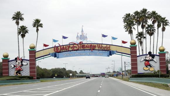 Imagen referencial de la entrada de Walt Disney World, en Lake Buena Vista, Florida. (AP Photo/John Raoux, File).