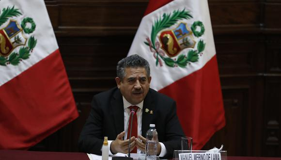 Manuel Merino dio detalles de la reunión que sostuvo con el presidente Martín Vizcarra. (Foto: GEC)