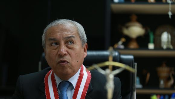 Informe final de Juan Sheput recomienda la destitución del fiscal de la Nación, Pedro Chávarry. (FOTO: USI)