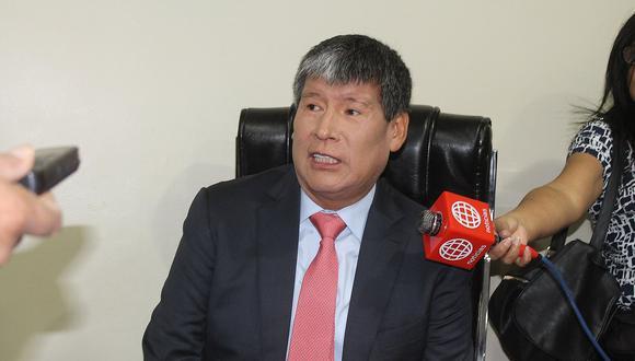 Wilfredo Oscorima es investigado por presuntamente recibir un soborno de la empresa Obrainsa