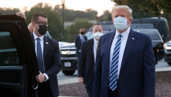 El coctel de tratamientos suministrados al presidente Trump incluía el remdesivir. REUTERS/Jonathan Ernst