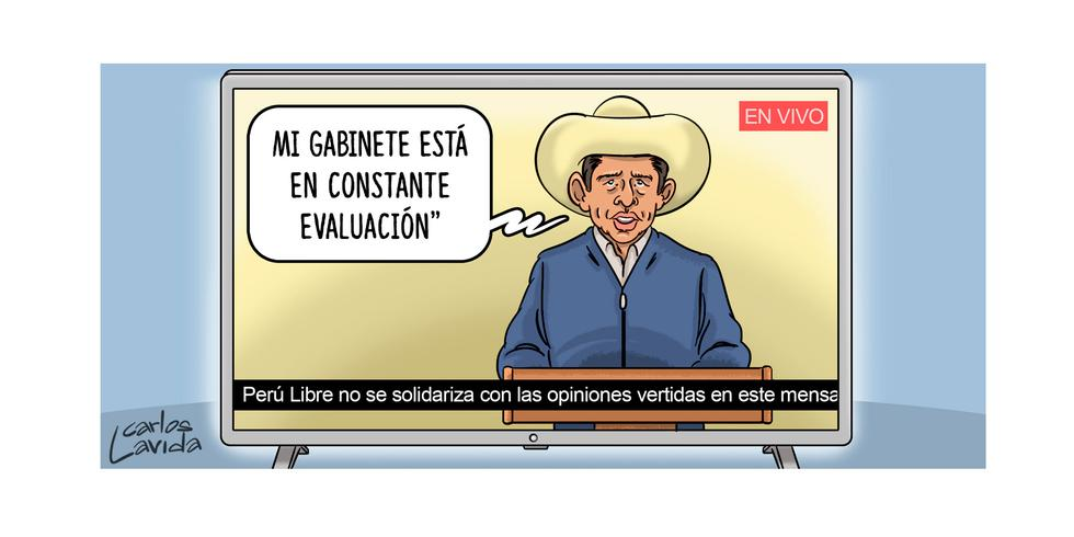 CARICATURA por Carlos Lavida