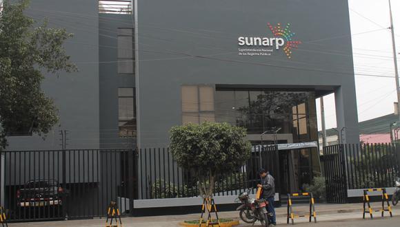 Sunarp. Registro digital. Se incrementó su uso durante pandemia. (Foto: GEC)