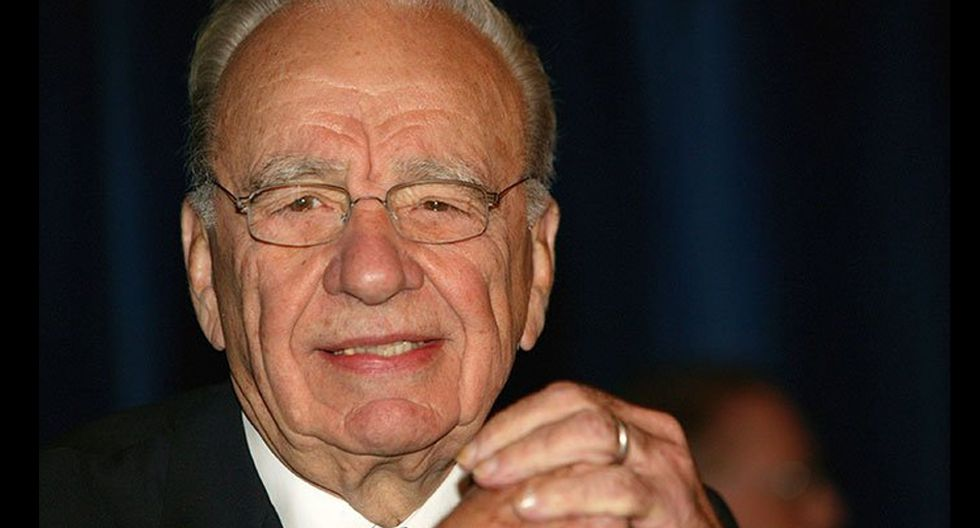FOTO 7 | Trump admira al magnate de los medios de comunicación Rupert Murdoch, quien entre sus negocios tiene el canal Fox News.