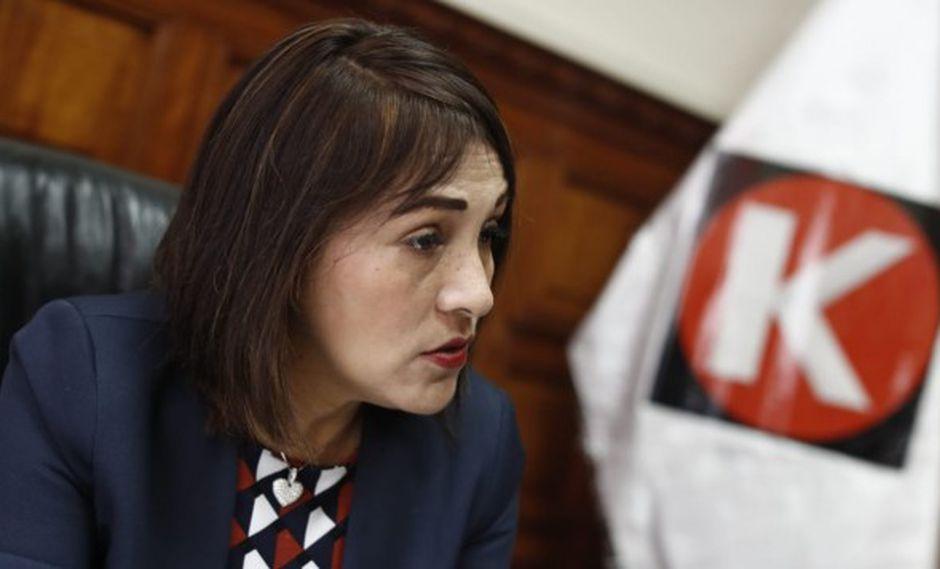 La congresista Milagros Salazar adelantó que su bancada buscará consenso para elegir a nuevos miembros del TC. (Foto: GEC)