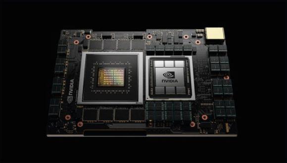 Esta CPU se basa en tecnología del también fabricante de chips Arm, que Nvidia está en proceso de comprar por US$ 40,000 millones, y podrá utilizarse para el procesamiento de idiomas, la inteligencia artificial o los sistemas de recomendaciones. (Foto: Nvidia)