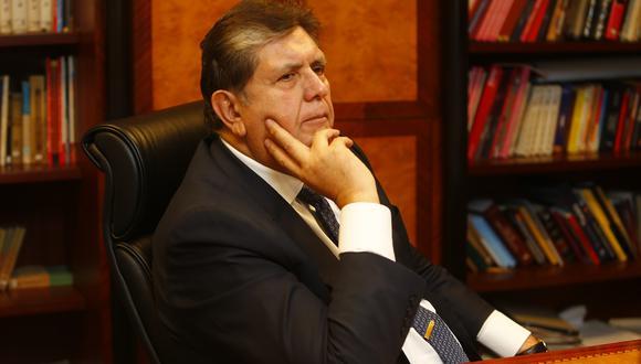 El ex presidente Alan García permanece en la residencia del embajador de Uruguay desde el sábado 17 de noviembre. (FOTO: USI)