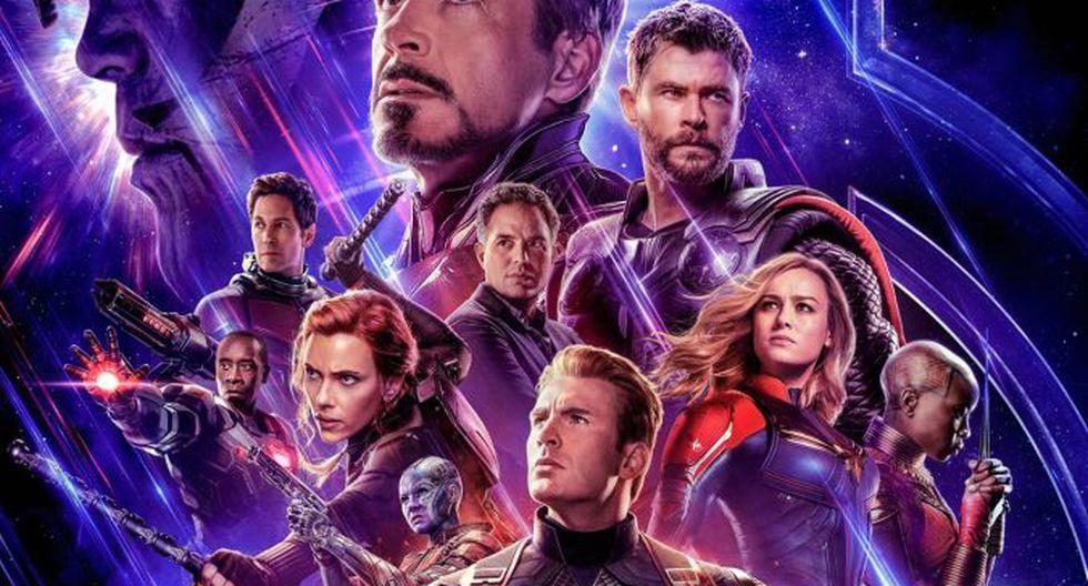 Póster oficial de Avengers Endgame. (Foto: Marvel Studios)