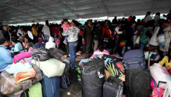 24 de mayo del 2019.- Migrantes con condición de turistas no pueden trabajar y podrían ser deportados.