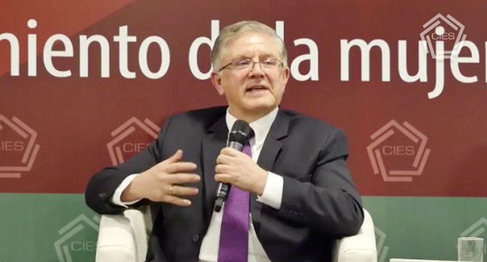 Renzo Rossini, gerente general del BCR