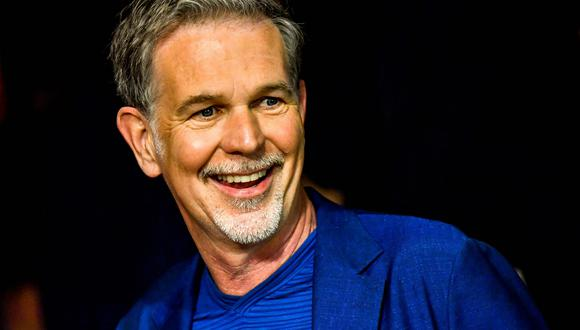 Reed Hastings, CEO de Netflix. (Foto: AFP)