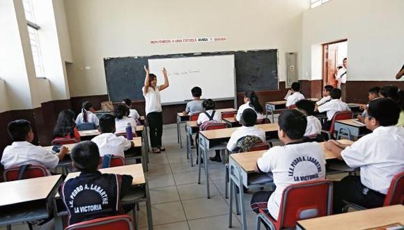 Demanda plantea declarar inconstitucional e ilegal resolución ministerial mediante la cual el gobierno aprobó el Currículo Nacional de Educación Básica para el 2017. (Foto: GEC)