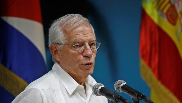 """El ministro español de Exteriores en funciones, Josep Borrell, aseguró que donarán el dinero a pesar de que España tiene """"unas circunstancias presupuestarias no fáciles"""". (Foto: EFE)"""