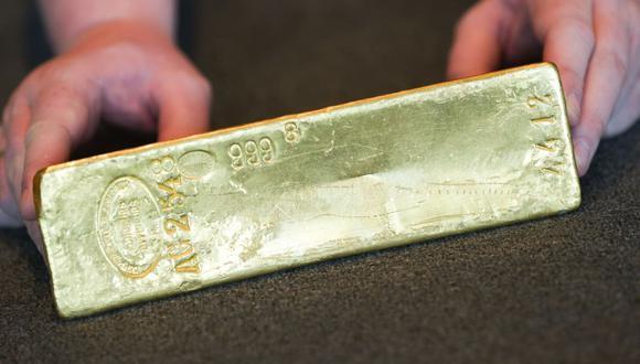 Los futuros del oro en Estados Unidos caía un 0.5% a US$ 1,769.50. (Foto: AFP)