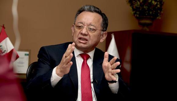 Edgar Alarcón fue denunciado por la fiscal de la Nación, Zoraida Ávalos, por el presunto delito de peculado doloso por apropiación agravada. (Foto: Archivo de GEC)