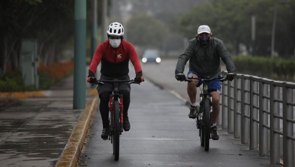 Además de reducir la posibilidad de contagio de COVID-19, el uso de bicicleta beneficia la salud al evitar el sedentarismo. (Foto: Anthony Niño de Guzmán / GEC)