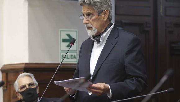 El jefe de Estado, Francisco Sagasti, fue citado a declarar por Subcomisión de Acusaciones Constitucionales del Congreso el lunes 22 de marzo. (Foto: Congreso)
