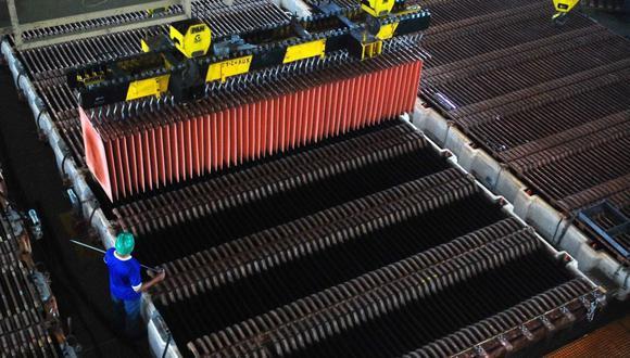 Los precios del cobre cotizaban el martes justo por debajo de máximos de 10 años. (Foto: GEC)