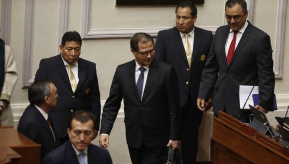 Ministro Francisco Ísmodes será interpelado por el Congreso el miércoles 21 de agosto por el Gasoducto Sur Peruano. (Foto: GEC)