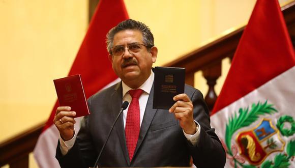 Manuel Merino anunció postergación del pleno que iba a debatir vacancia presidencial. (Foto: GEC)
