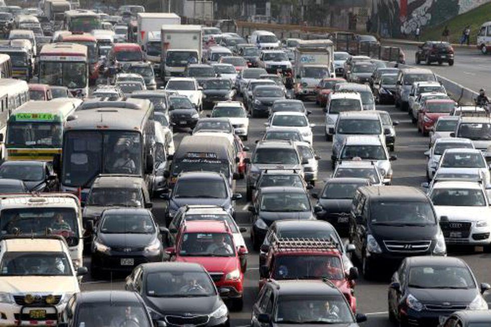 'Pico y placa' busca reducir la congestión en las principales vías de la ciudad. (Foto: GEC)