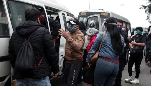 Gremio de transportistas considera insuficiente autorización de la ATU. (Foto: GEC)